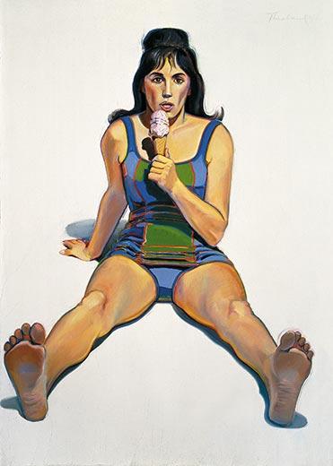 wayne thiebaud paintings. a Wayne Thiebaud painting?